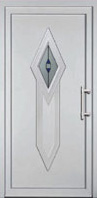 PVC vrata Žut